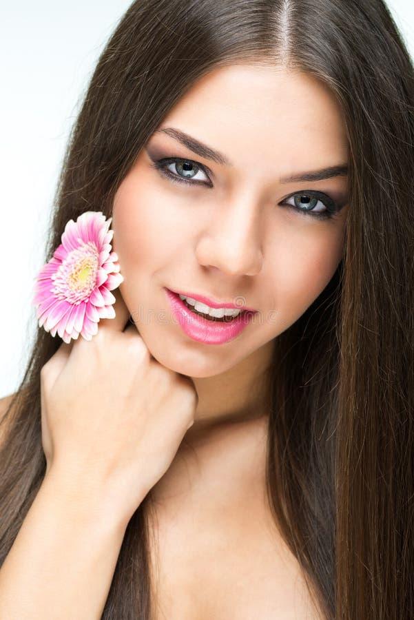 Menina da beleza da forma Retrato lindo da mulher fotos de stock royalty free