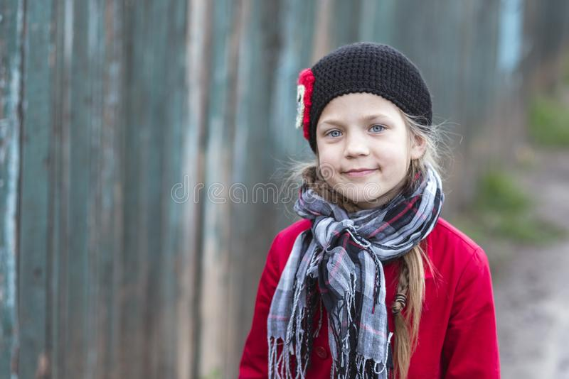Menina da criança da forma fotos de stock