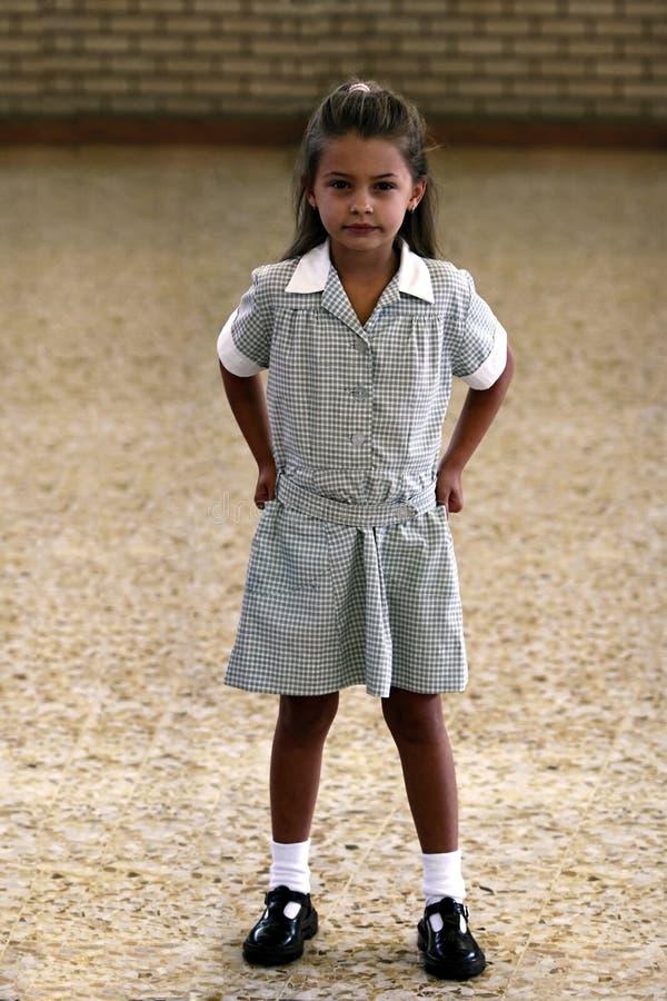 Menina da escola fotografia de stock royalty free