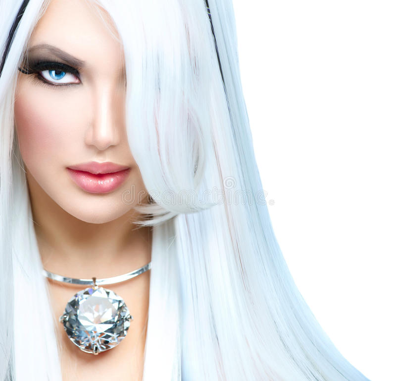 Menina da forma da beleza imagens de stock royalty free