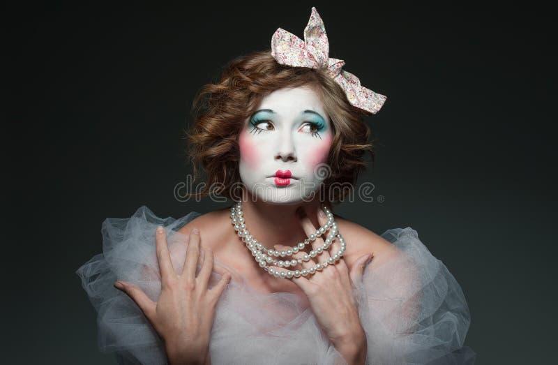 Menina da porcelana imagem de stock