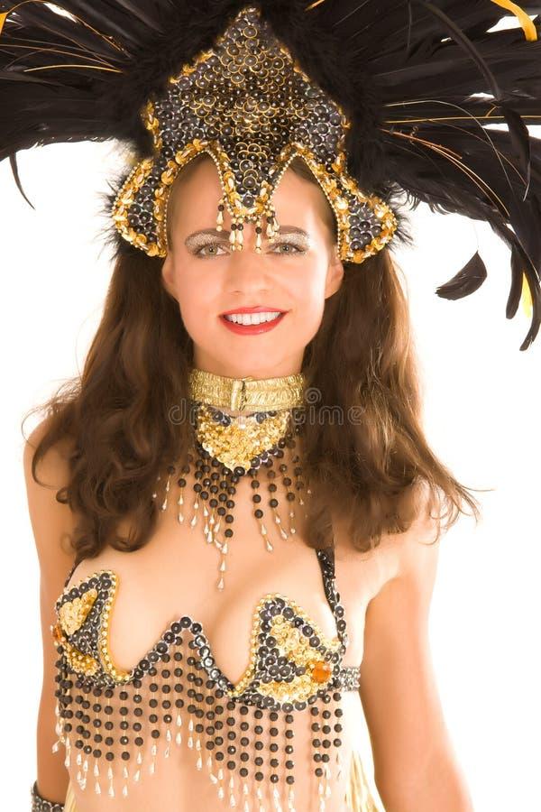 Menina da samba fotos de stock royalty free
