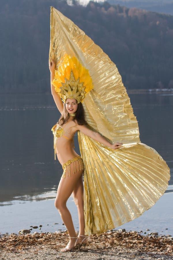 Menina da samba imagens de stock royalty free