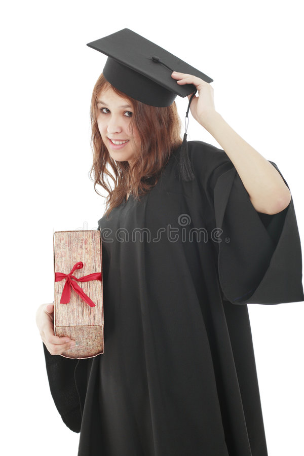 Menina da universidade foto de stock royalty free