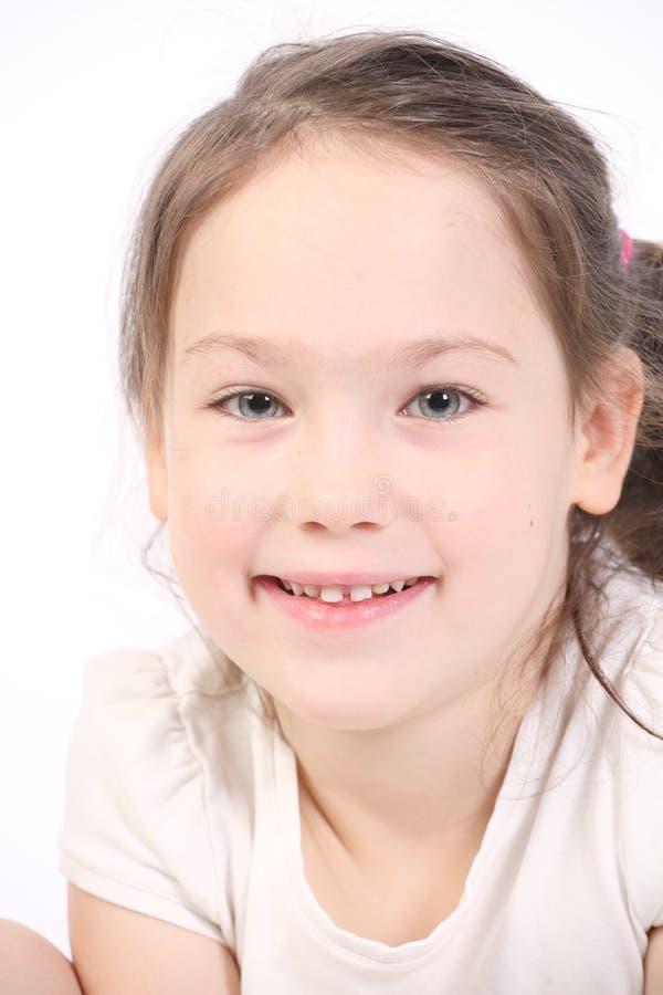 Menina de cinco anos. foto de stock royalty free