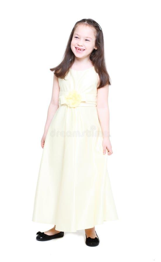 Menina de cinco anos foto de stock