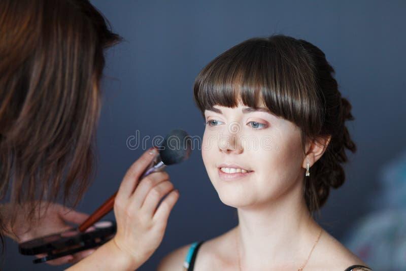 Menina de composição fotografia de stock royalty free
