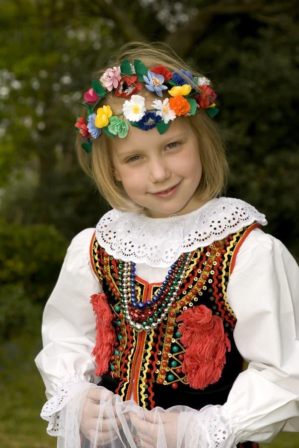Menina de Cracow imagens de stock