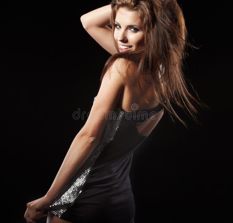 Menina de dança bonita imagem de stock