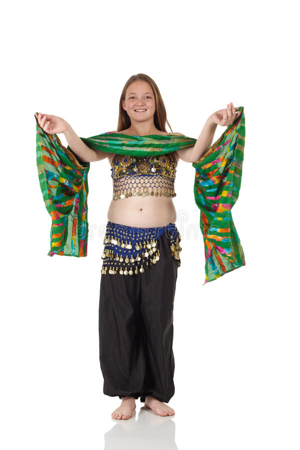 Download Menina De Dança Nova Da Barriga Imagem de Stock - Imagem de vestido, ativo: 10064795