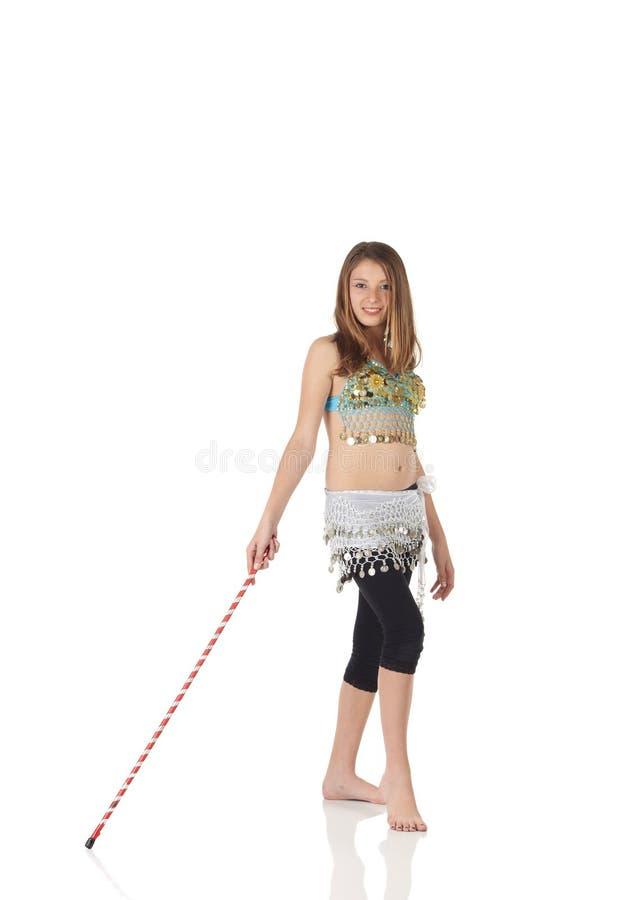 Download Menina De Dança Nova Da Barriga Imagem de Stock - Imagem de assoalho, corpo: 10064799