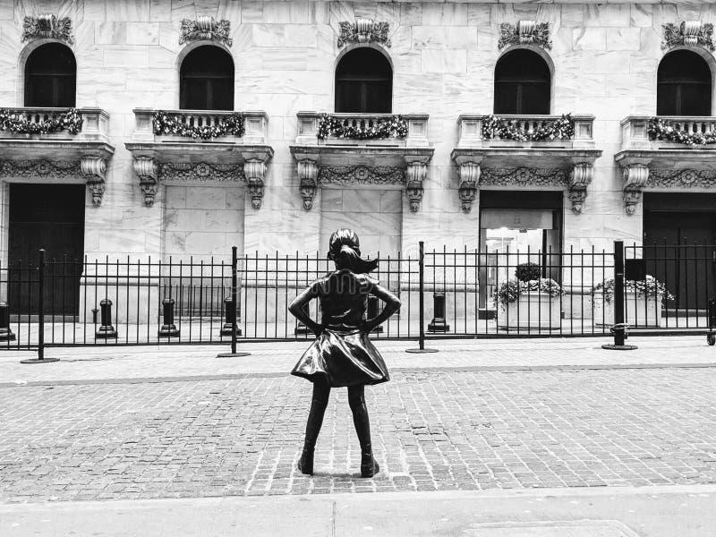 Menina de Fealress foto de stock