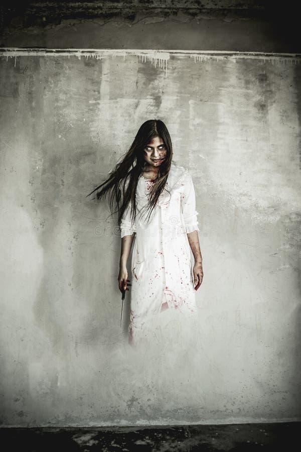 Menina de Ghost foto de stock royalty free