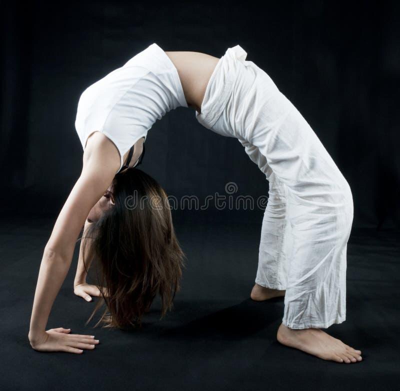 Menina de Kung Fu imagens de stock royalty free