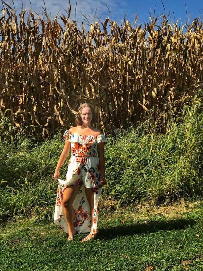 Menina de Midwest fotos de stock royalty free