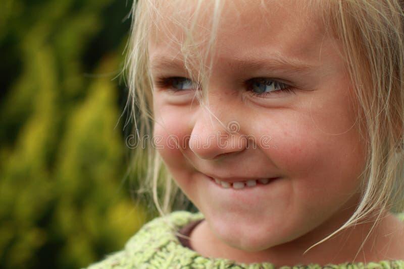 Menina de Naughy imagens de stock