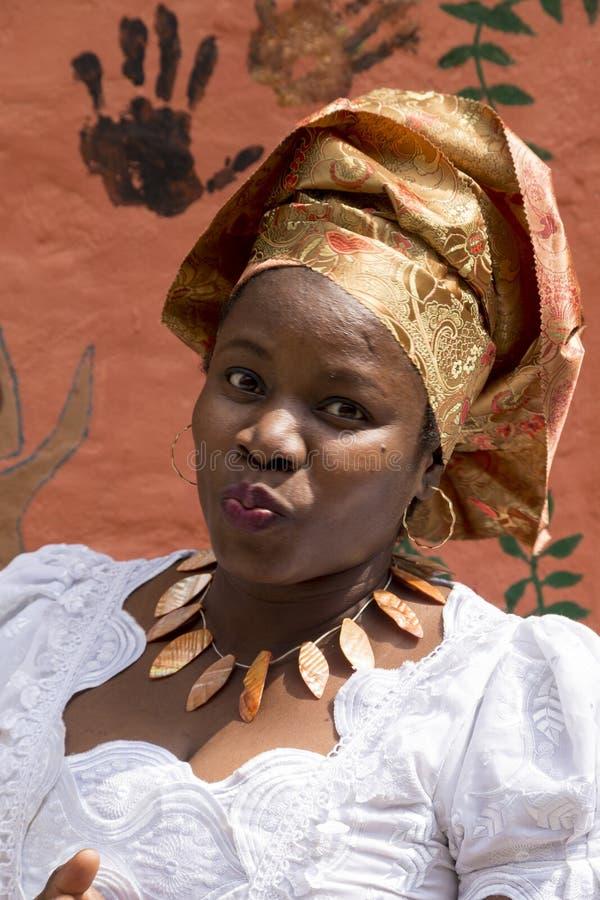 Menina de Nigéria imagem de stock
