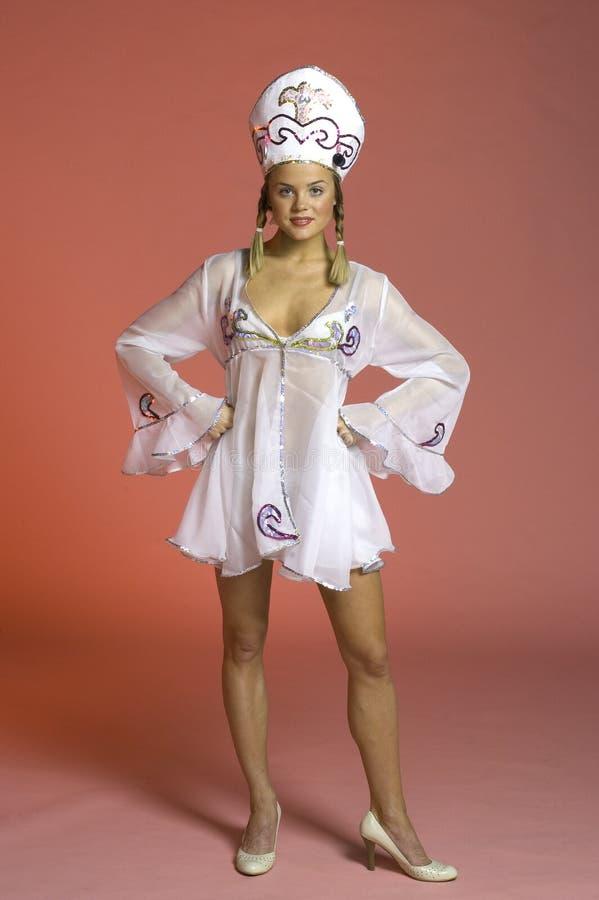 Menina De Partido 2 Do Russo Imagem de Stock Royalty Free