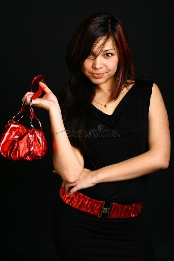 Menina de Shoping imagem de stock