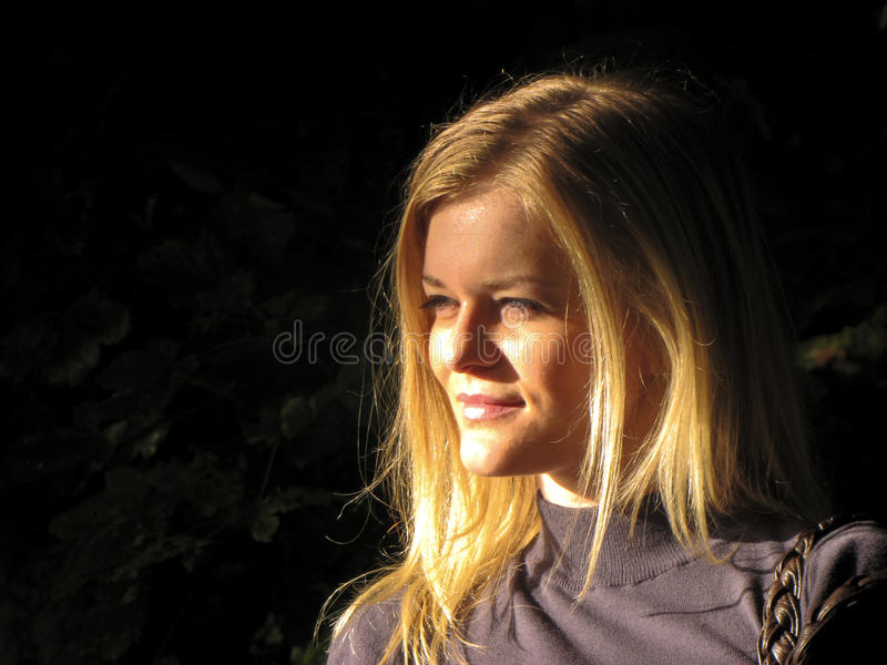 Menina de sonho fotografia de stock royalty free
