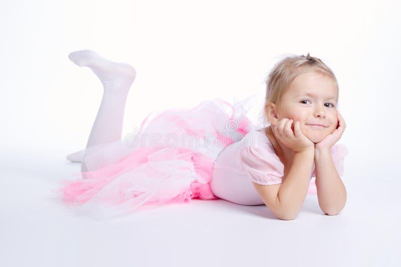 Menina de sonho pequena bonito fotos de stock royalty free