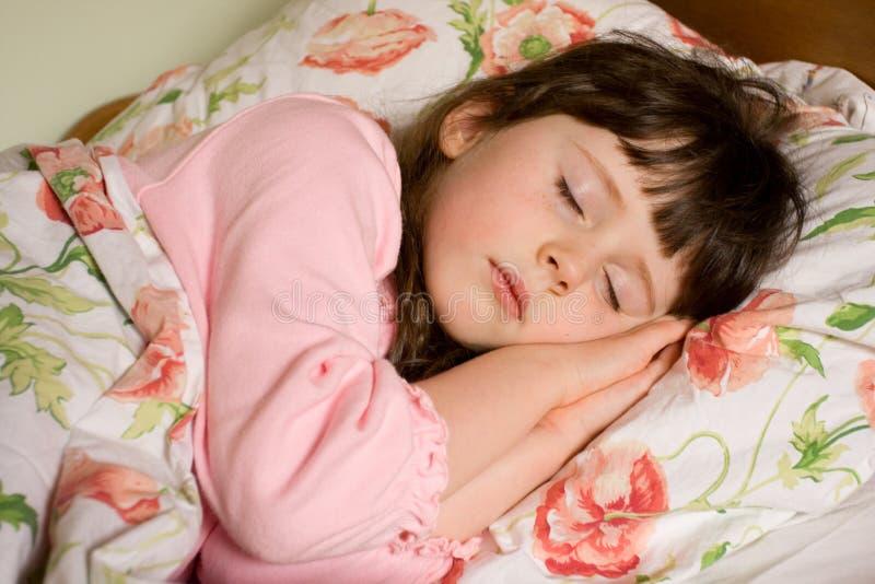 Menina de sono foto de stock royalty free