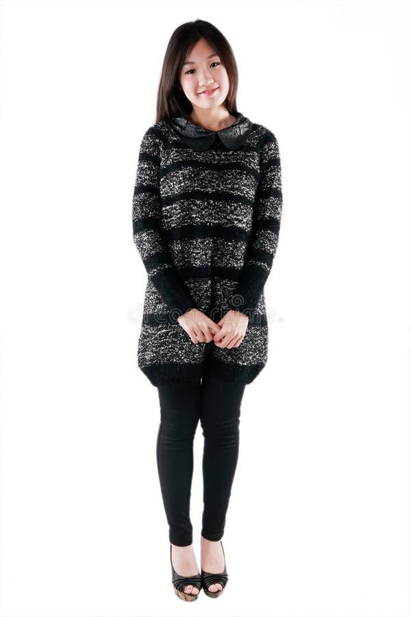 Menina De Sorriso Asiática Fotografia de Stock Royalty Free