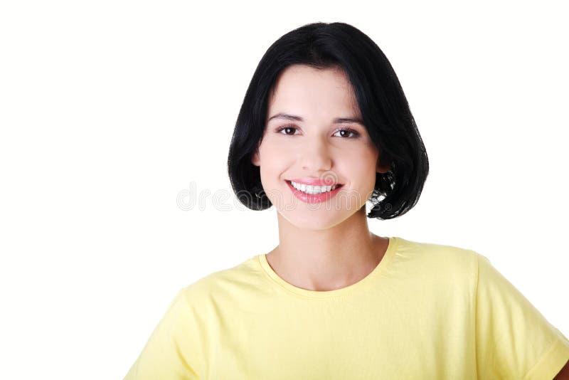 Download Menina De Sorriso Do Estudante Na Roupa Ocasional Imagem de Stock - Imagem de feliz, retrato: 29827127