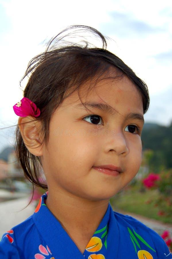 Menina de Yukata foto de stock
