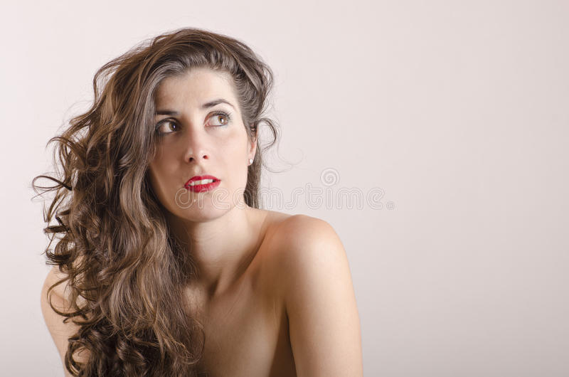 Menina despida latin de Beautyful fotografia de stock royalty free