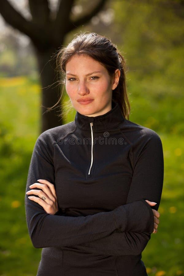 Menina desportiva imagem de stock royalty free