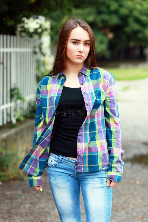 Menina do adolescente foto de stock royalty free