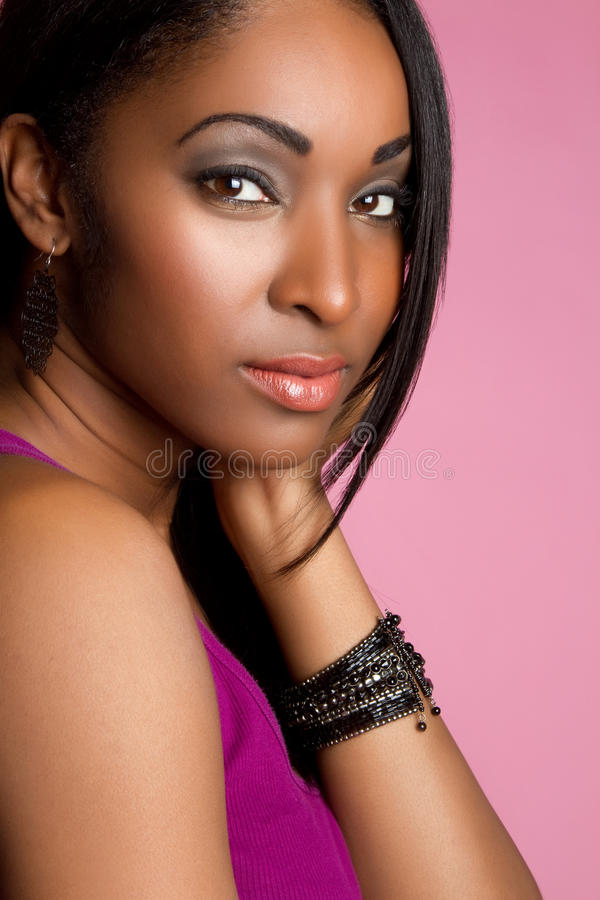 Menina do americano africano fotos de stock royalty free