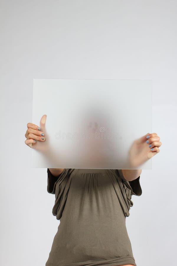 Menina do anónimo imagem de stock