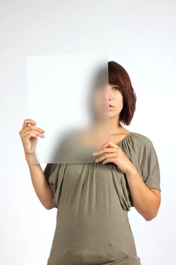 Menina do anónimo fotos de stock