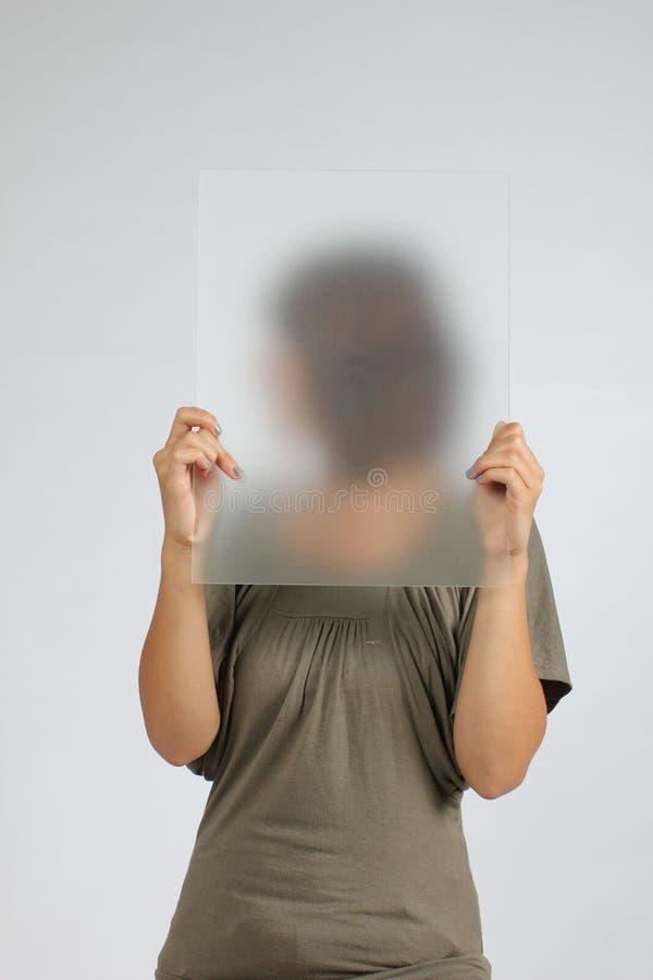 Menina do anónimo imagens de stock