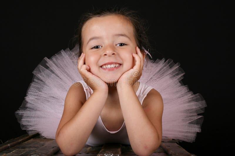 Menina do bailado foto de stock
