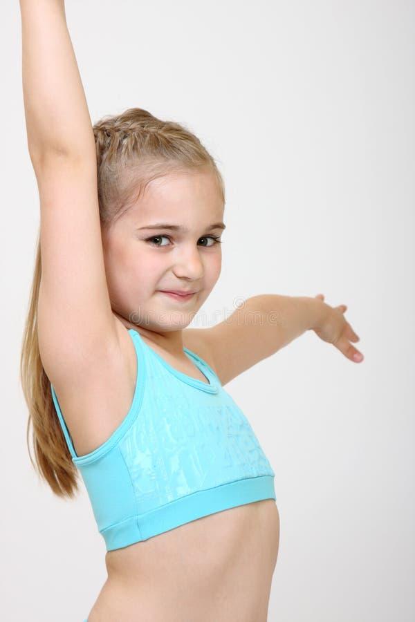 Menina do dançarino imagens de stock