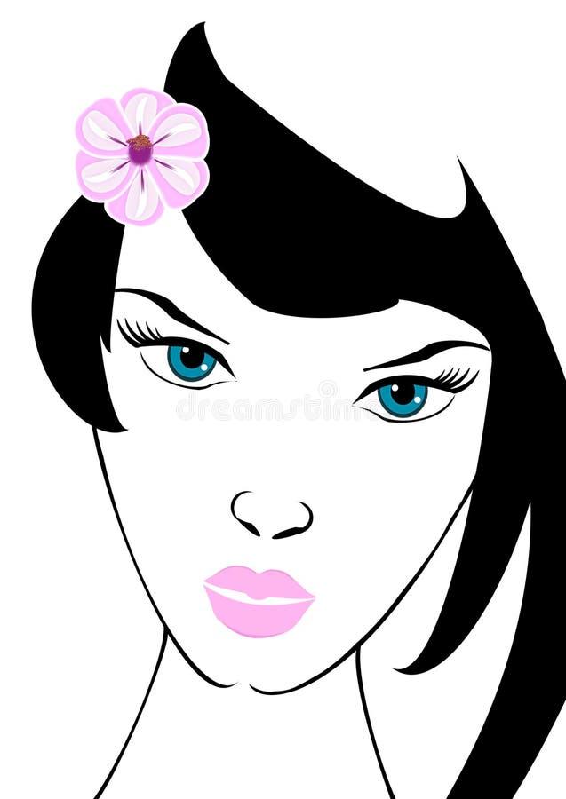 Menina do encanto imagem de stock