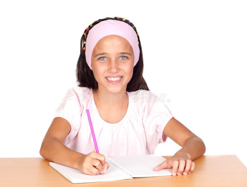 Menina do estudante imagens de stock