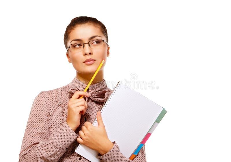 Menina do estudante imagem de stock royalty free