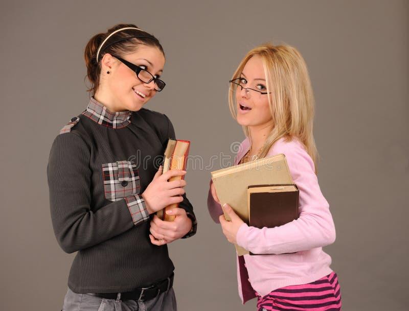 Menina do estudante. imagem de stock