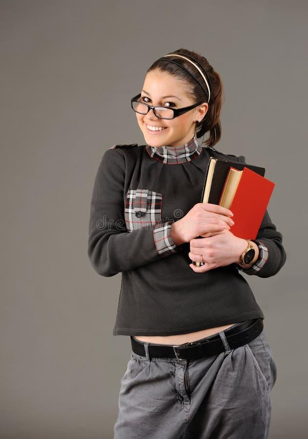 Menina do estudante. imagens de stock