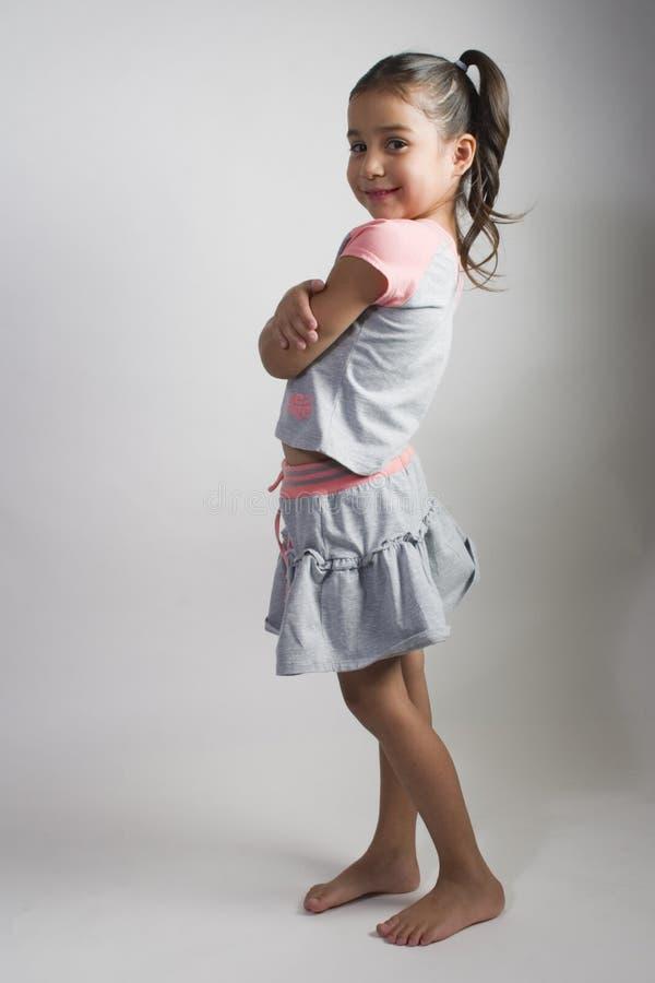 Menina do Latino fotografia de stock