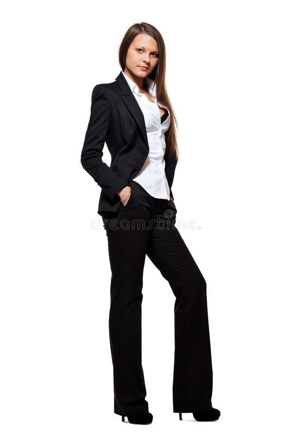 Menina do negócio imagem de stock