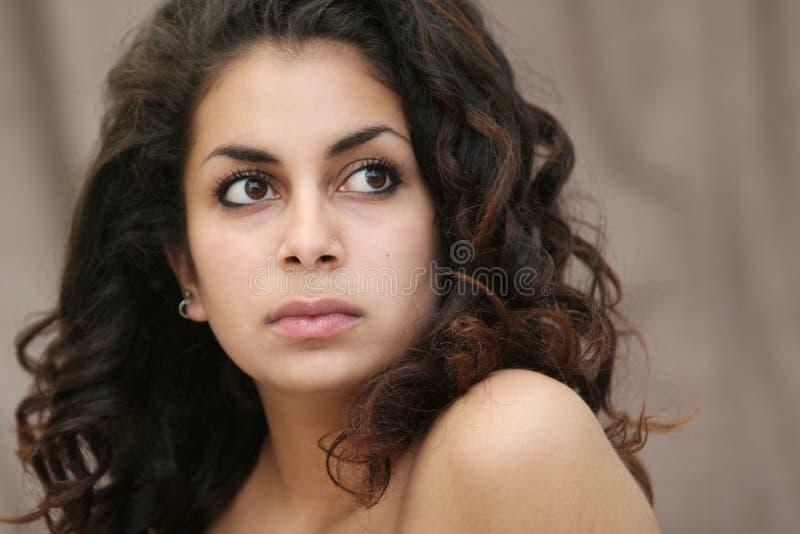 Menina do Oriente Médio bonita foto de stock royalty free