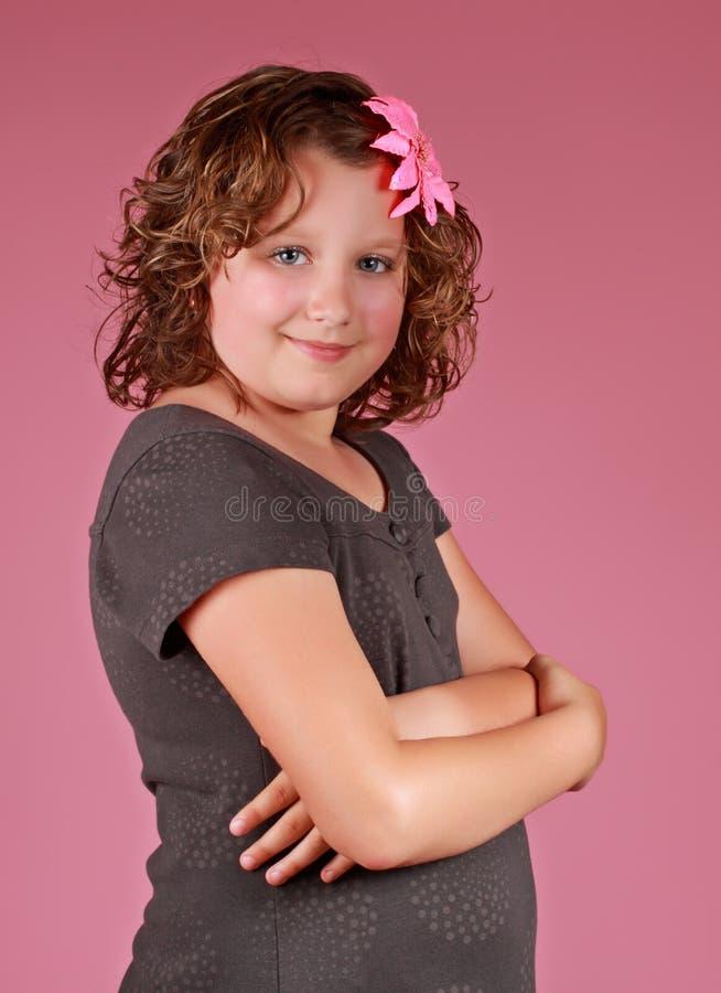 Menina do Preteen imagem de stock