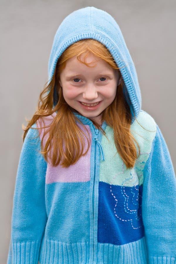 Menina do Redhead imagem de stock royalty free