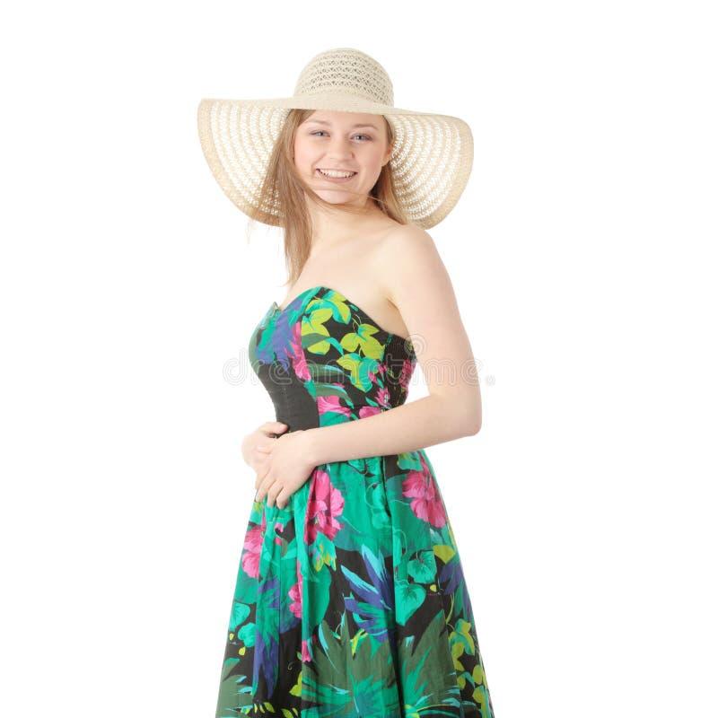 Download Menina do verão imagem de stock. Imagem de divertimento - 12801127