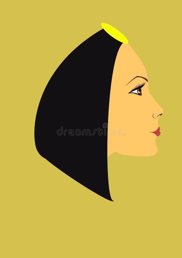 Menina egípcia fotos de stock royalty free